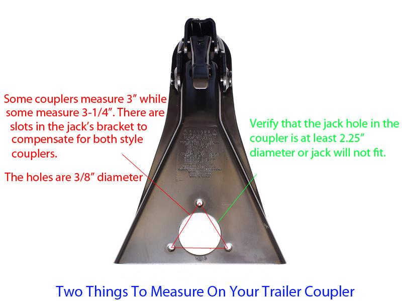 A-Frame Trailer Jack on