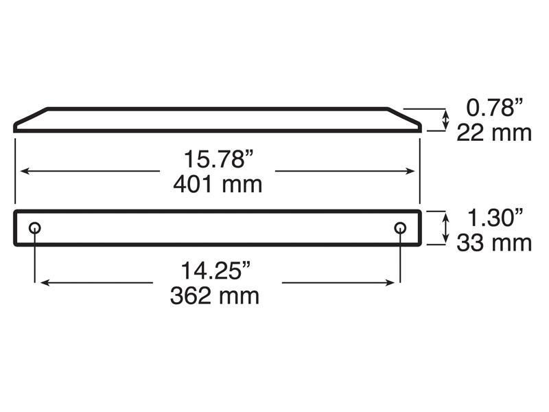 L E D Thin Line Tail Light