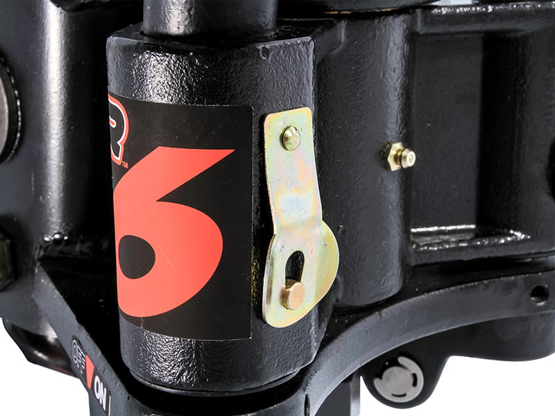 Camco Chem 48731 ReCurve R6 Distribution Hitch-600 lb Weight Capacity with Premium Adaptive Sway Control Contains Hitch Ball