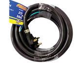 Arcon 30-amp, 110-Volt Power Extension Cord W/ Stripped End