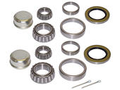 Pair Of Trailer Bearing Repair Kits For 1-3/4 Inch to 1-1/4 Inch Tapered Spindles