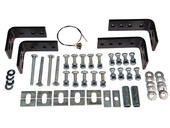 10-Bolt Universal Mounting Bracket Kit