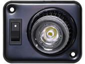 LED Interior Swivel Light W/Switch - Recessed Mount