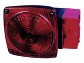 Submersible Square Trailer Tail Light - Right