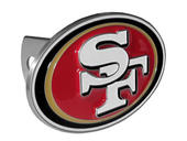 San Francisco 49ers Large Hitch Cover - Fits Class II 1-1/4 Inch and Class III/IV 2 Inch Receivers