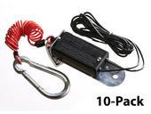 Breakaway Cable & Nylon Breakaway Switch - 10-Pack