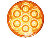 4&quot Round L.E.D. Amber Tail Light - LumenX