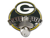 Green Bay Packers Tailgater Hitch Cover with Bottle Opener