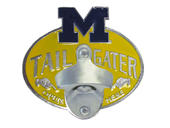 Michigan Wolverines Tailgater Hitch Cover with Bottle Opener