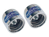 "Bearing Buddy® Chrome Bearing Protectors (pair) - 1.980"" Diameter"