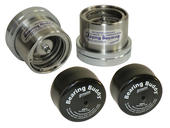"Bearing Buddy® Stainless Steel Bearing Protectors With Bras - Pair - 2.717"" Diameter"