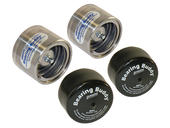 "Bearing Buddy® Stainless Steel Bearing Protectors With Bras - Pair - 2.328"" Diameter"