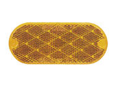 Quick Mount Oval Reflector - Amber