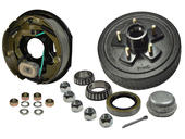 5-Bolt on 5 Inch Bolt Circle - 10 Inch Hub/Drum With Electric Brake Assembly - Drivers Side