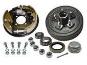 5-Bolt on 5 Inch Bolt Circle - 10 Inch Hub/Drum With Hydraulic Brake Assembly - Drivers Side