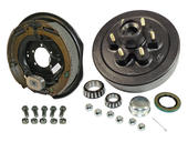 6-Bolt on 5-1/2 Inch Bolt Circle - 12 Inch Hub/Drum With Electric Brake Assembly - Drivers Side