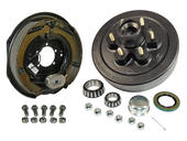6-Bolt on 5-1/2 Inch Bolt Circle - 12 Inch Hub/Drum With Electric Brake Assembly - Passenger Side