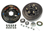 6-Bolt on 5-1/2 Inch Bolt Circle - 12 Inch Hub/Drum With Hydraulic Brake Assembly - Passenger Side