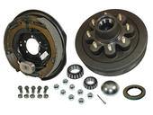 8-Bolt on 6-1/2 Inch Bolt Circle - 12 Inch Hub/Drum With Electric Brake Assembly - Drivers Side