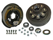 8-Bolt on 6-1/2 Inch Bolt Circle - 12 Inch Hub/Drum With Electric Brake Assembly - Passenger Side