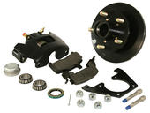 Reliable Hydraulic Disc Brake & Caliper Kit - Driver Side
