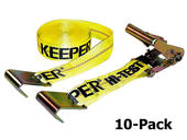 Ratchet Tie-Down - 10-Pack