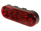 "6"" LED Oval Tail Light"