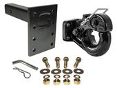 10 Ton Pintle Hook, Mounting Plate and Hardware