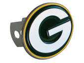 Green Bay Packers Large Hitch Cover - Fits Class II 1-1/4 Inch and Class III/IV 2 Inch Receivers