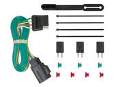 Rigid T-Connector Custom 4-Flat, Select Traverse, Acadia, Enclave, OEM Tow Package Required