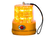 Amber L.E.D. Portable Strobe Light