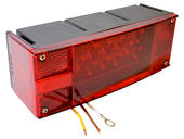 Waterproof LED Combination Tail Light - Left