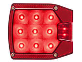 """LED Combination Tail Light for Over/Under 80"""" Applications - Passenger Side"""