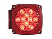 "Square ""Under 80"" Combination LED Tail Light- Left"