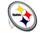 Pittsburgh Steelers Large Hitch Cover - Fits Class II 1-1/4 Inch and Class III/IV 2 Inch Receivers