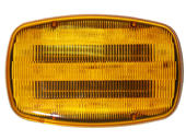 LED Battery-Operated Hazard Light w/Magnetic Mount, Amber