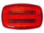 LED Battery-Operated Hazard Light w/Magnetic Mount, Red