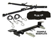 Blue Ox Alpha Tow Bar & Baseplate Combo for Jeep Liberty