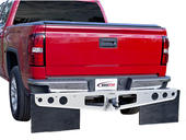 RockStar™ Universal Fit Hitch Mounted Mud Flaps - Smooth Mill Finish