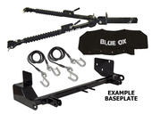 Blue Ox Alpha Tow Bar & Baseplate Combo for Jeep Wrangler