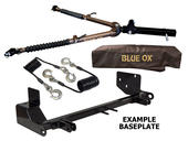 Blue Ox Avail™ Tow Bar & Baseplate Combo for Jeep Wrangler