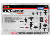 340pc Toyota Trim Clip Assortment