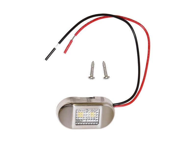 L.E.D. Mini Stainless Steel Accent Light