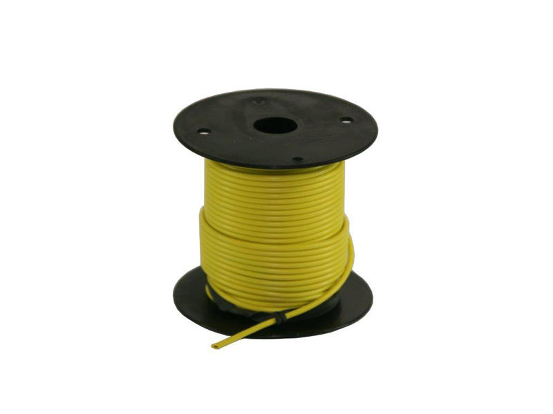 Primary Wire - Yellow - 100 Feet