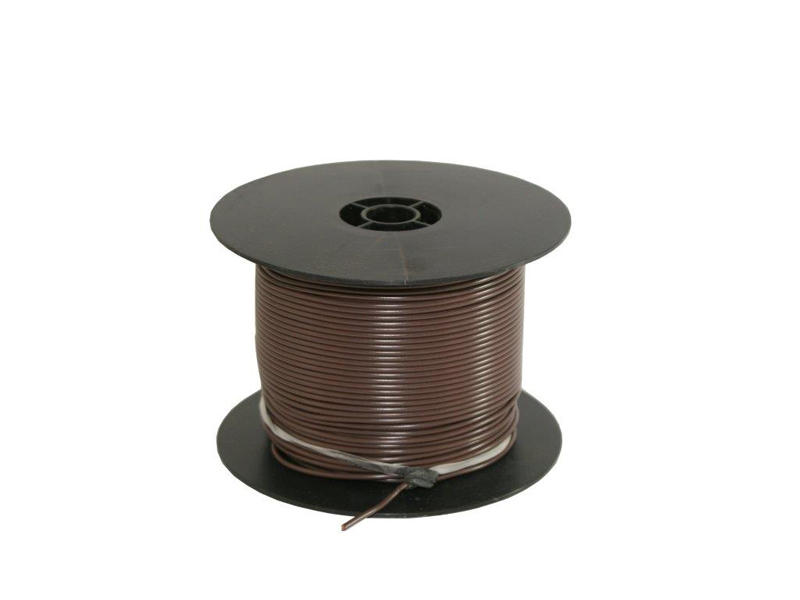 Primary Wire - Brown - 500 Feet