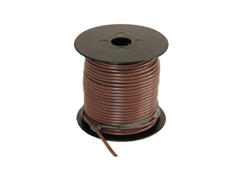 Primary Wire - Brown - 100 Feet