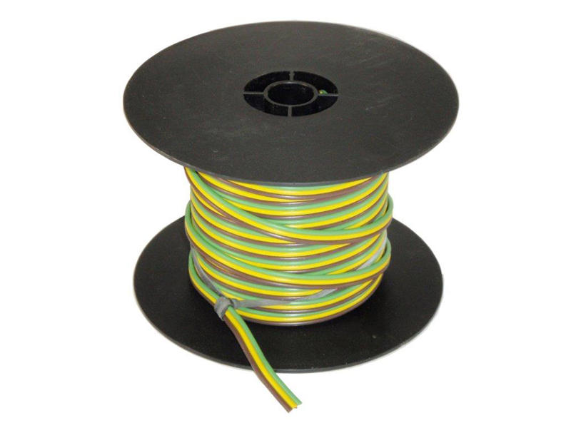 3-Wire Bonded Parallel - Brown/Green/Yellow - 100 Feet