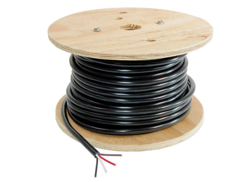 04904 4-Wire Trailer Lighting Cable - Red/White/Black/Brown - 100 Feet