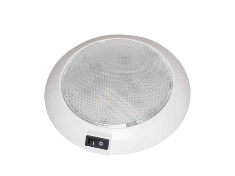 Round L.E.D. Dome/Interior Light