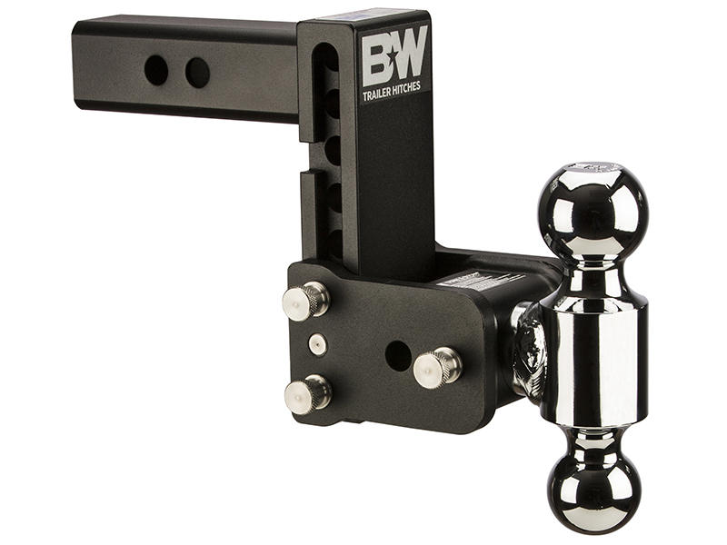 Tow & Stow Double-Ball Ball Mount